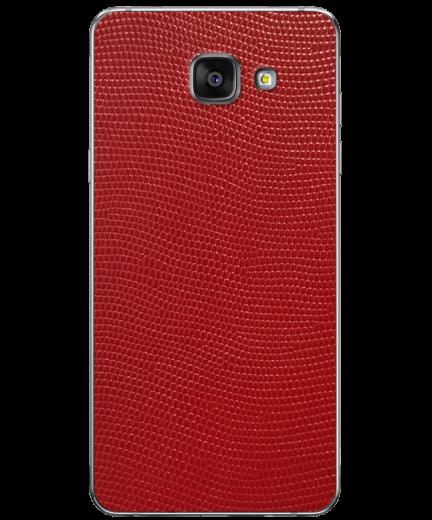 Кожаная наклейка Red Stingray для Samsung Galaxy A7 (2016)