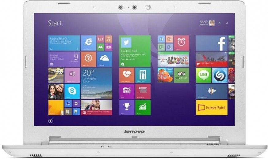 Ноутбук Lenovo IdeaPad Z51-70 (80K6015KUA) White