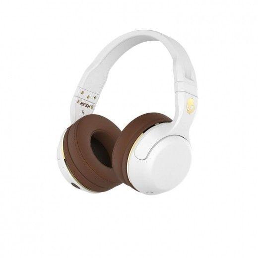 Навушники SKULLCANDY HESH 2 OVER-EAR WIRELESS White/Brown/Gold (S6HBJY-534)