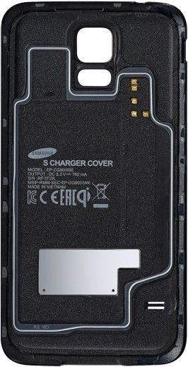 Комплект для беспроводной зарядки для Galaxy S5 (EP-WG900IBRGRU)