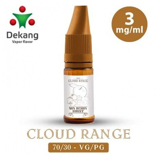 Жидкость для электронных сигарет Dekang Cloud Range «Berry Burst» 3 мг/мл