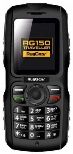 Мобильный телефон RugGear RG150 Traveller Black