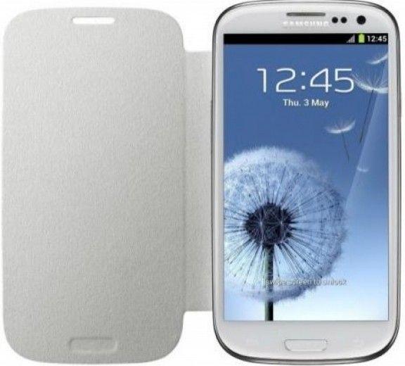 Чехол Samsung для Galaxy SIII i9300 Marble White (EFC-1G6FWECSTD)