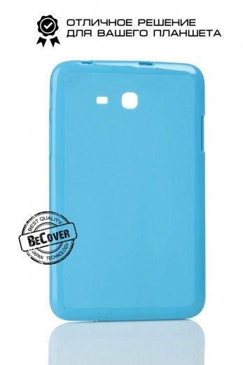 Силиконовый чехол BeCover для Samsung Tab 3 Lite T110/T111/T113/T116 Blue