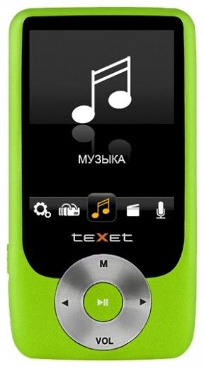 MP3-плеер Texet T-79 8GB Green