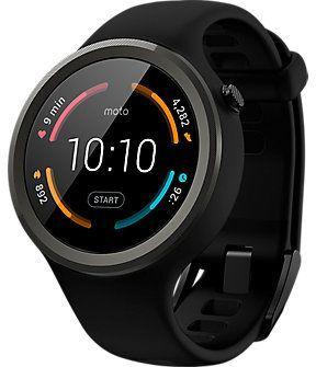 Смарт часы Motorola Moto 360 Sport Black