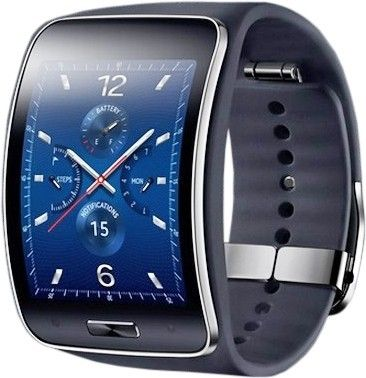 Смарт часы Samsung Galaxy Gear S (SM-R7500ZKASEK) Black