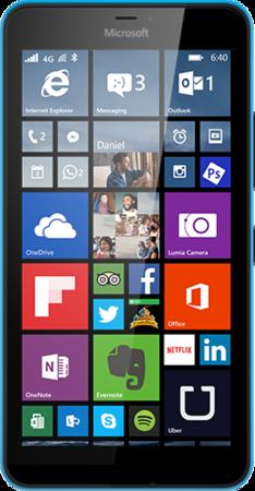Мобильный телефон Microsoft Lumia 640 XL Dual Sim Blue