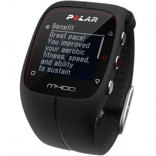 Фитнес-трекер Polar M400 HR Black