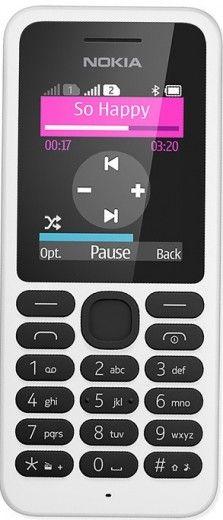 Мобильный телефон Nokia 130 Dual Sim White