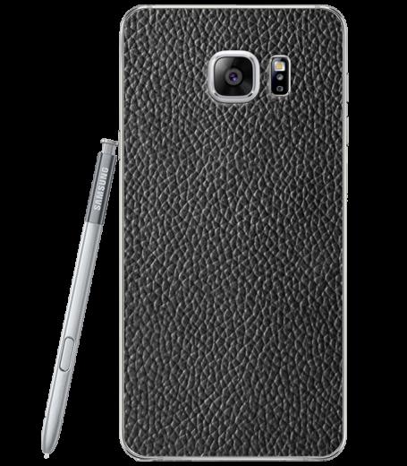 Кожаная наклейка Classic Black  для Samsung Galaxy Note 5 (N920)