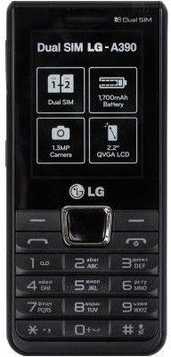 Мобильный телефон LG A390 Specs Urgent Black