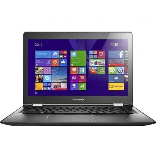 Ноутбук Lenovo Yoga 500-15 (80N600BEUA) Black
