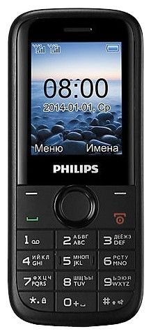 Мобильный телефон Philips E120 Dual Sim Black