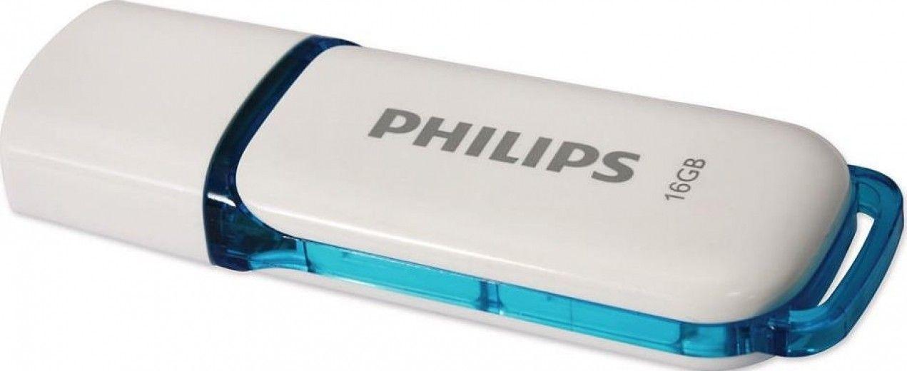 USB флеш накопитель Philips 16 GB Snow (FM16FD70B/97)