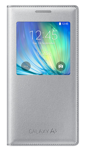 Чехол Samsung S View для Samsung Galaxy A5 500 Silver (EF-CA500BSEGRU)