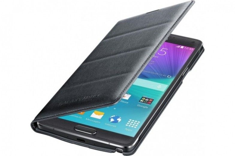 Чехол Samsung Flip Wallet для Galaxy Note 4 Charcoal (EF-WN910BCEGRU)