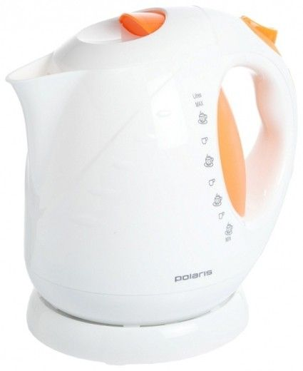 Электрочайник POLARIS PWK 2013C white/orange