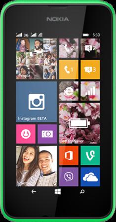 Мобильный телефон Nokia Lumia 530 Dual Sim Green