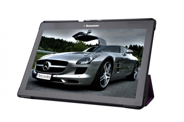 Обложка AIRON Premium для Lenovo Tab 2 A10 Purple