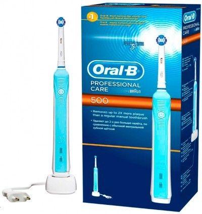 Электрическая зубная щетка BRAUN ORAL-B Professional Care 500/D16