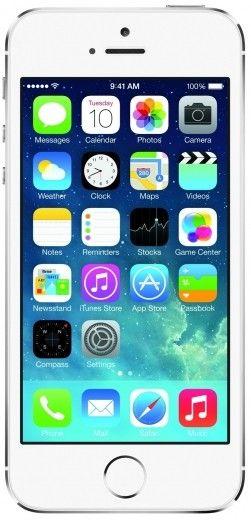 Мобильный телефон Apple iPhone 5S 16GB Silver