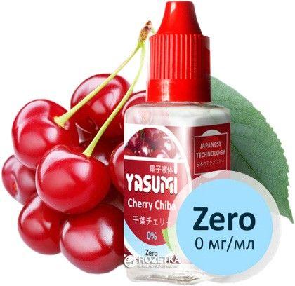 Жидкость для электронных сигарет Yasumi Cherry Chiba 0 мг/мл