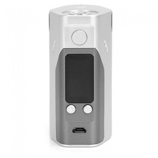 Батарейный мод Wismec Reuleaux RX200S Grey/Silver (WISRXX200S)