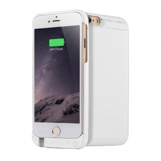 Чехол-аккумулятор AIRON Power Case для IPhone 6/6s White