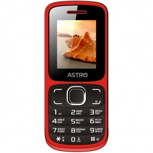 Мобильный телефон Astro A177 Red/Black