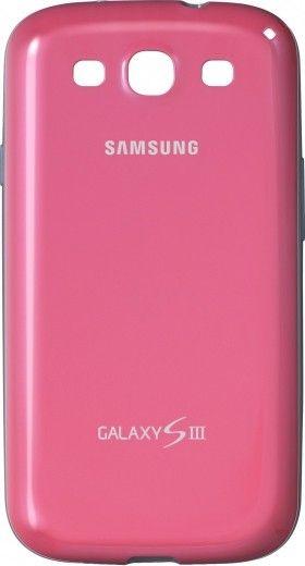 Чехол Samsung для Galaxy SIII i9300 Pink (EFC-1G6BPECSTD)