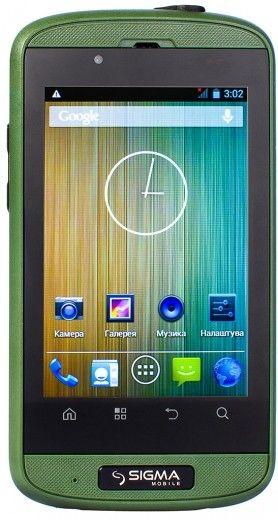 Смартфон Sigma mobile X-treme PQ12 Green