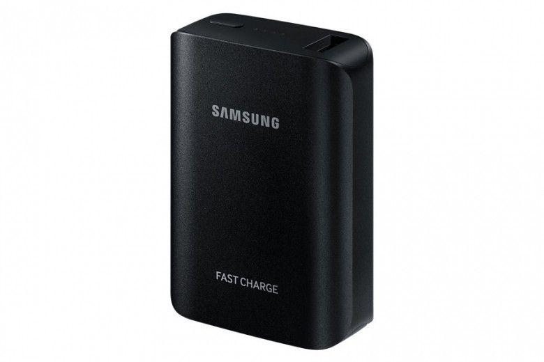 Портативная батарея Samsung Fast Charging EB-PG930BBRGRU 5100 mAh Black