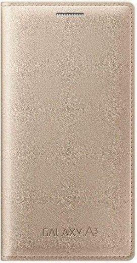 Чехол Samsung Flip Cover для Samsung Galaxy A3 Gold (EF-FA300BFEGRU)