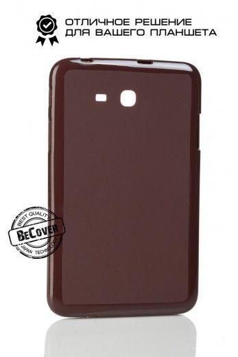 Силиконовый чехол BeCover для Samsung Tab 3 Lite T110/T111/T113/T116 Brown