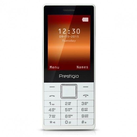 Мобильный телефон Prestigio 1280 Muze B1 Dual White