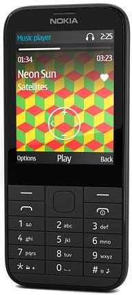Мобильный телефон Nokia 225 Dual SIM Black