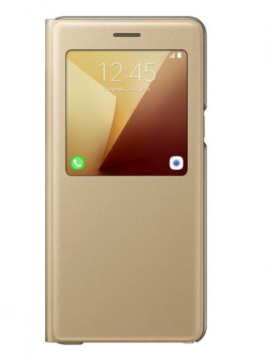 Чехол Samsung S View Cover для Samsung Galaxy Note 7 Gold (EF-CN930PFEGRU)