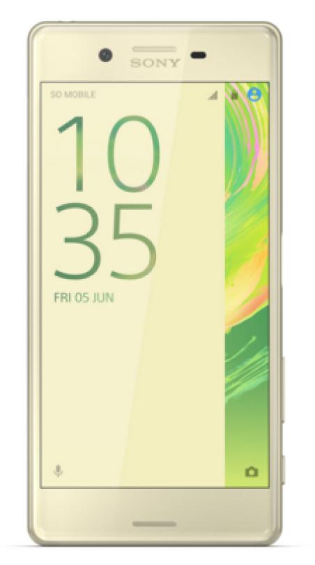 Мобильный телефон Sony Xperia XA Dual F3112 Lime Gold