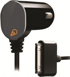 Автомобильное зарядное устройство Cygnett Car Charger Goove Power 1 A Apple 30pin Fixed cable Black (CY0344PAAUT)