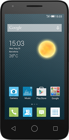 Смартфон Alcatel PIXI 3 4027D Black