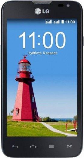 Смартфон LG D285 L65 Dual Black