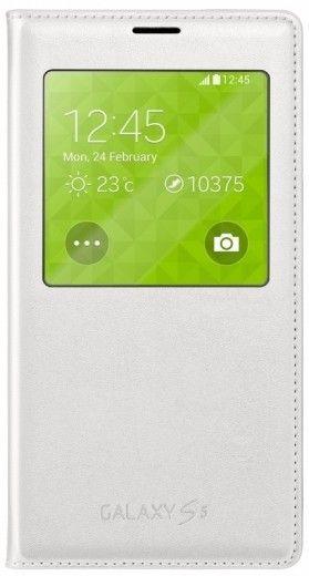 Чехол Samsung S View для Galaxy S5 White (EF-CG900BWEGRU)