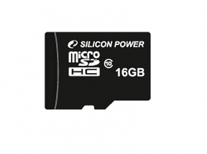 Карта памяти Silicon Power 16 GB microSDHC Class 10 SP016GBSTH010V10
