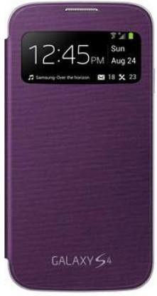Чехол Samsung для Galaxy S4 I9500 S-View Sirius Purple (EF-CI950BVEGWW)