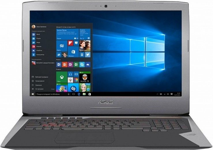Ноутбук Asus ROG G752VY (G752VY-GC061T)