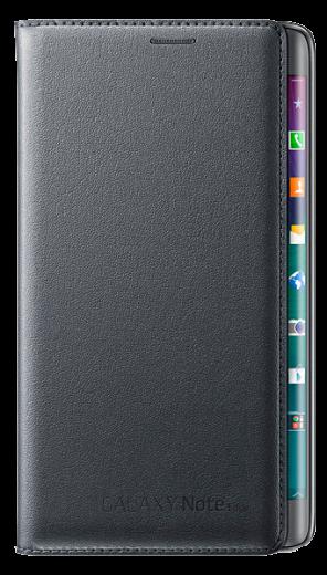 Чехол Samsung Flip Wallet для Galaxy Note Edge EF-WN915BCEGRU Charcoal