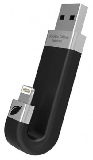 USB флеш-накопитель Leef iBridge Lightning/USB 64Gb Black