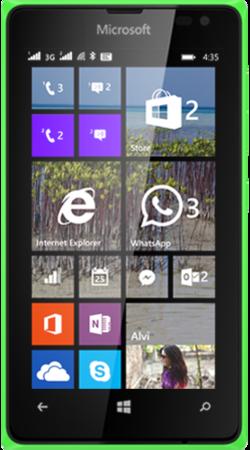 Мобильный телефон Microsoft Lumia 435 DS Green