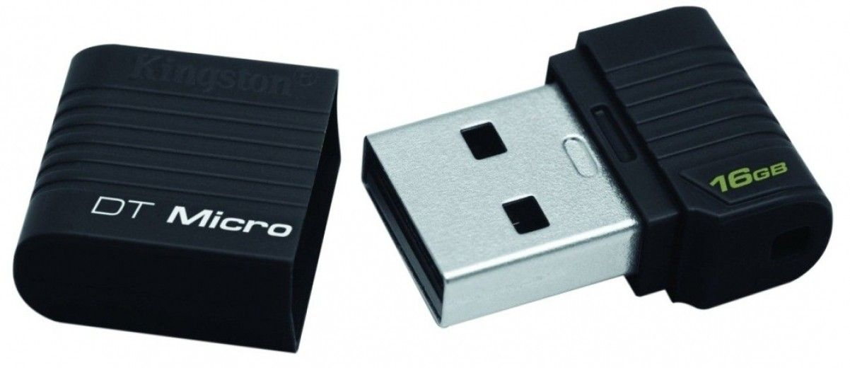 USB флеш накопитель Kingston DataTraveler Micro 16 GB (DTMCK/16GB)